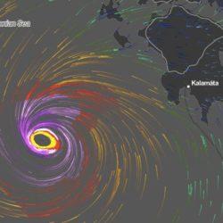 Μεσογειακός κυκλώνας την Παρασκευή δυτικά της Κρήτης