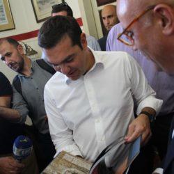 """Τι θέματα έβαλε στην """"ατζέντα"""" του πρωθυπουργού ο Τάσος Βάμβουκας"""