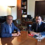 Πιστώσεις για τέσσερα έργα στον Πλατανιά, ζήτησε ο Γ.Μαλανδράκης από τον νέο υπουργό Εσωτερικών