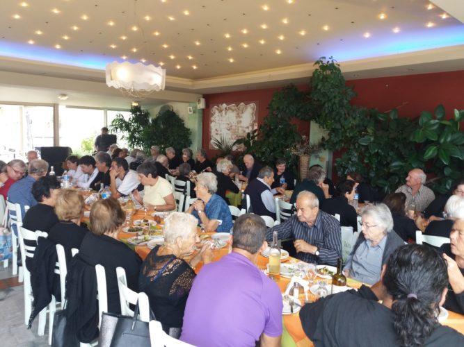 Η δημοτική αρχή Πλατανιά, τίμησε τους ηλικιωμένους του δήμου