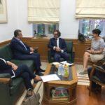 Γερμανικές αποζημιώσεις και τουρισμός στη συνάντηση του Περιφερειάρχη με τον Γερμανό Πρέσβη στην Ελλάδα