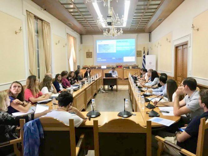 Συνάντηση εργασίας του ευρωπαϊκού προγράμματος Mistral στην Περιφέρεια Κρήτης