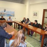 Συνάντηση δημάρχου-καταστηματαρχών Χάληδων για το έργο ανάπλασης της περιοχής