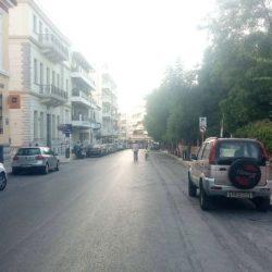 Δράσεις περιβάλλοντος στην οδό Τζανακάκη από τον δήμο Χανίων