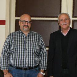 Η νεοεκλεγείσα κοσμητεία του ΤΕΙ Χανίων, επισκέφθηκε τον Απόστολο Βουλγαράκη