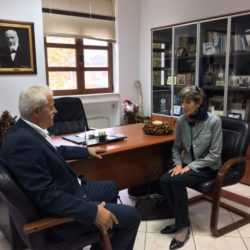 Με συμπατριώτες της για το Brexit, συναντήθηκε στον Αποκόρωνα η βρετανίδα πρέσβειρα