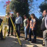 Μελέτη για την κατασκευή πεζοδρομίων στην Π.Ε.Ο. από το Μάλεμε ως το Κολυμπάρι