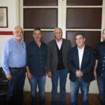 Το νέο προεδρείο του Εμπορικού Συλλόγου, συναντήθηκε με τον Αντιπεριφερειάρχη Χανίων