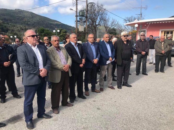Εορτάσθηκε η ημέρα της Εθνικής Αντίστασης στον δήμο Πλατανιά
