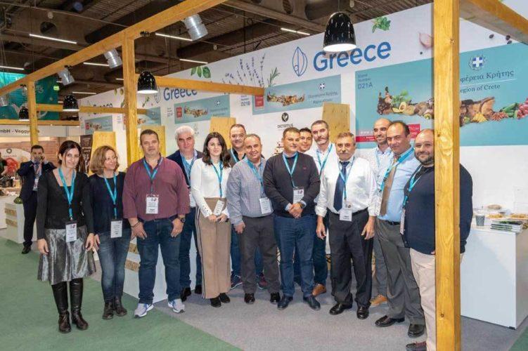 Σε μεγάλη διεθνή έκθεση βιολογικών και φυσικών προϊόντων η Περιφέρεια Κρήτης