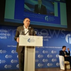 Γιώργος Σταθάκης από το 1ο επιχειρηματικό «Forum» Χανίων: Στροφή στην επιχειρηματικότητα