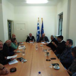 Έργα οδοποιίας στα Σφακιά επιθεώρησε ο Απόστολος Βουλγαράκης