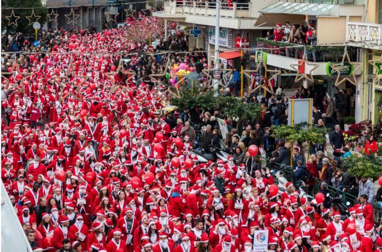 Δεν θα πραγματοποιηθεί φέτος στα Χανιά το Santa Run