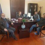 Συνάντηση για θέματα παιδείας στην Αποκεντρωμένη Διοίκηση Κρήτης