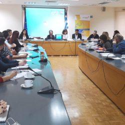 Συνάντηση στην Περιφέρεια στο πλαίσιο του ευρωπαϊκού προγράμματος iWatermap