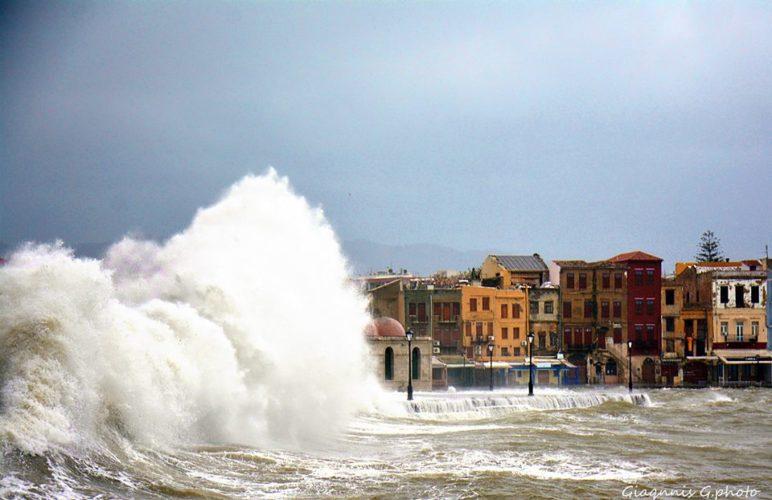 """Υποχωρεί η """"Ζηνοβία"""", παραμένει το τσουχτερό κρύο στην Κρήτη"""