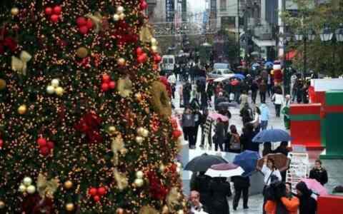 Διαγωνισμός για την καλύτερη χριστουγεννιάτικη βιτρίνα από τον Εμπορικό Σύλλογο