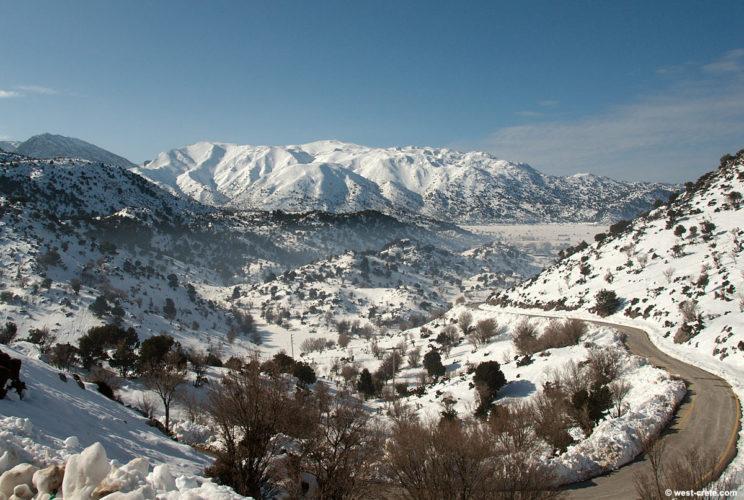 Έρχεται χιονιάς και στην Κρήτη την επόμενη των Χριστουγέννων