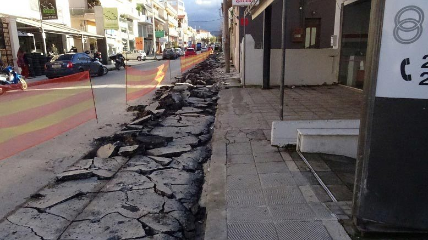 Νέα πεζοδρόμια σε κεντρικούς δρόμους των Χανίων