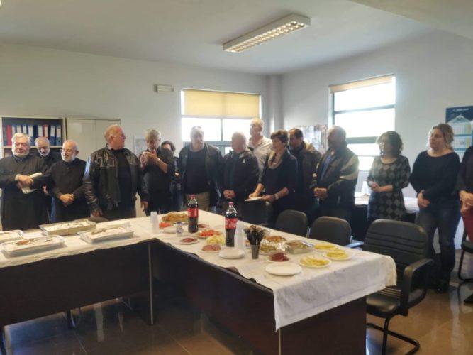 Ο δήμος Πλατανιά έκοψε την πρωτοχρονιάτικη πίτα του
