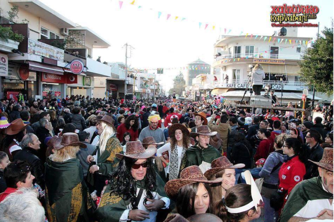 Δυναμικό παρών και φέτος τις Απόκριες, το καρναβάλι της Σούδας