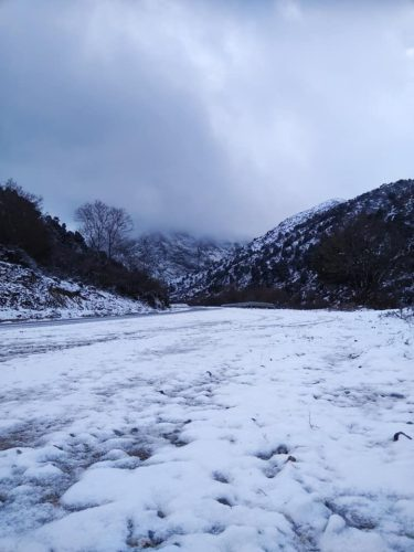 Σε ετοιμότητα η Αντιπεριφέρεια Χανίων εν όψει χιονιά
