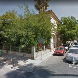 Κατέρρευσε τμήμα παλιού κτιρίου της οδού Νεάρχου. Για κινδύνους τραυματισμού προειδοποιεί το ΤΕΕ
