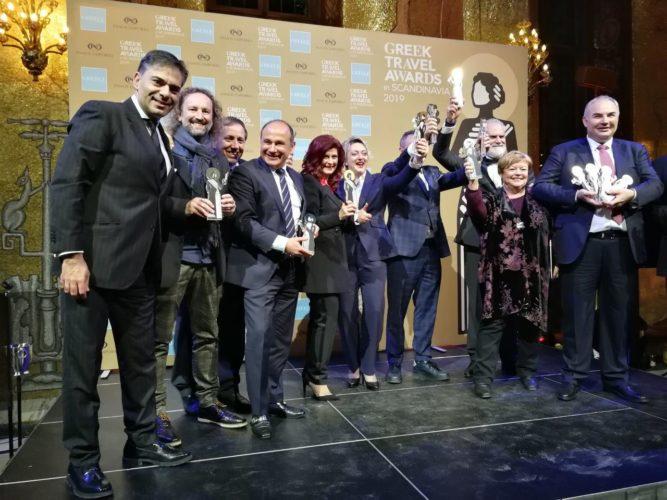 Διέπρεψε η Περιφέρεια Κρήτης στα βραβεία Greek Travel Awards στη Στοκχόλμη