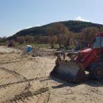 Εργασίες αποκατάστασης στη Χρυσή Ακτή και στους Αγ. Αποστόλους