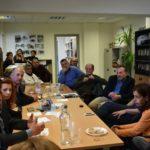 Στην Διεύθυνση τεχνικών υπηρεσιών του δήμου ο Γρηγόρης Αρχοντάκης. Την Κυριακή επισκέπτεται τα Κεραμειά