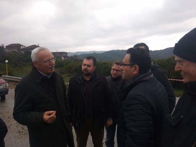 Στην Ευρωβουλή από το ΚΚΕ, η θεομηνία στα Χανιά. Επίσκεψη κλιμακίου του κόμματος στις πληγείσες περιοχές