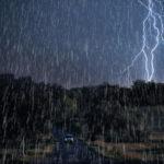 Μεγάλα ύψη βροχής και χιλιάδες κεραυνοί στην Κρήτη.