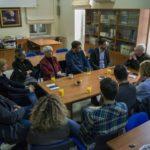 Επίσκεψη του Παναγιώτη Σημανδηράκη στο ίδρυμα Ελευθερίου Βενιζέλου