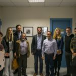 Τις διευθύνσεις εκπαίδευσης Χανίων επισκέφθηκε ο Παναγιώτης Σημανδηράκης