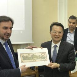 Επίσκεψη Κινέζικης Αντιπροσωπείας της Επαρχίας Fujian στην Περιφέρεια Κρήτης