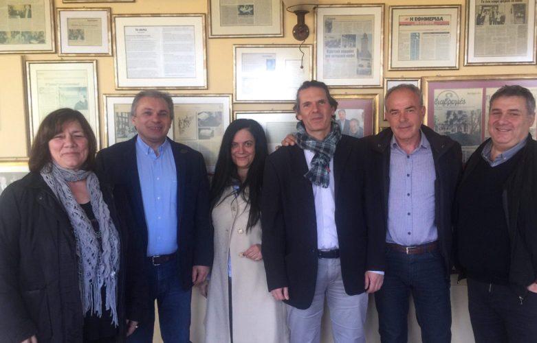 Ακόμη μια συνάντηση στον δρόμο για την διοργάνωση του πανευρωπαϊκού φόρουμ των πολιτιστικών διαρομών