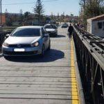 Στην κυκλοφορία από χθες η προσωρινή γέφυρα στον Πλατανιά