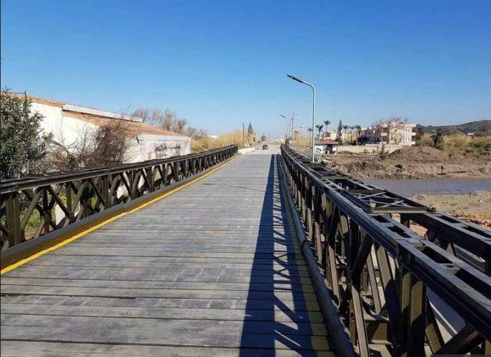 Κλειστή σήμερα για τρεις ώρες η γέφυρα του Πλατανιά, για να ελεγχθεί από τον στρατό
