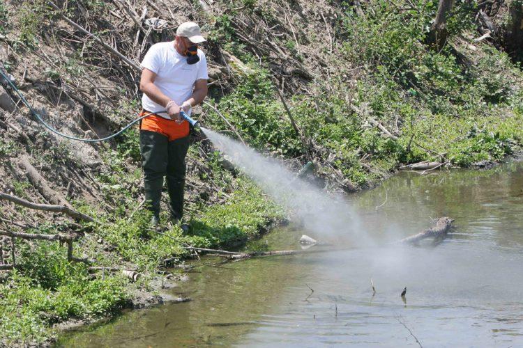 Ξεκίνησε από την Π.Ε. Χανίων το πρόγραμμα καταπολέμησης των κουνουπιών