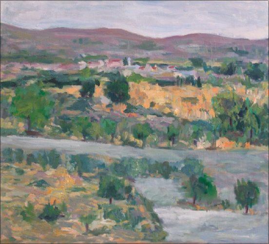 Έκθεση ζωγραφικής του Μιχάλη Λαζαρίδη στην  αίθουσα Τέχνης Β. Μυλωνογιάννη