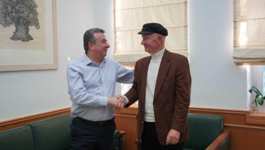 Πρωτόκολλο Συνεργασίας μεταξύ Περιφέρειας Κρήτης και ΕΦΕΤ