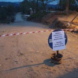 Κλειστή λόγω επιδείνωσης καιρού η προσωρινή διάβαση του Κερίτη