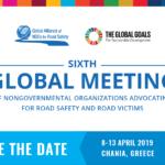 Στα Χανιά η 6η παγκόσμια συνάντηση των ΜΚΟ που εργάζονται για την οδική ασφάλεια