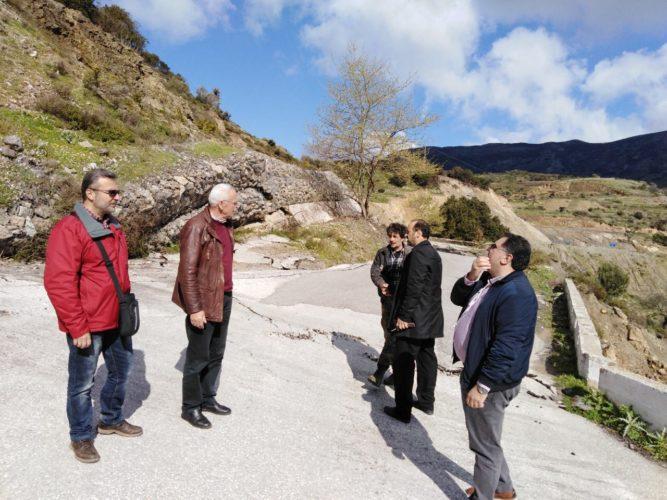 Περιοχές του δήμου Κισάμου επισκέφθηκε ο Απόστολος Βουλγαράκης