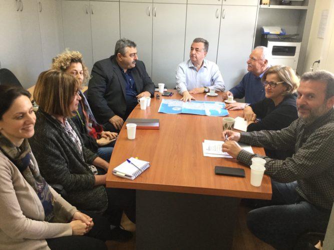 Σύσκεψη υπό τον Περιφερειάρχη για την αποκατάσταση των καταστροφών από τις βροχοπτώσεις