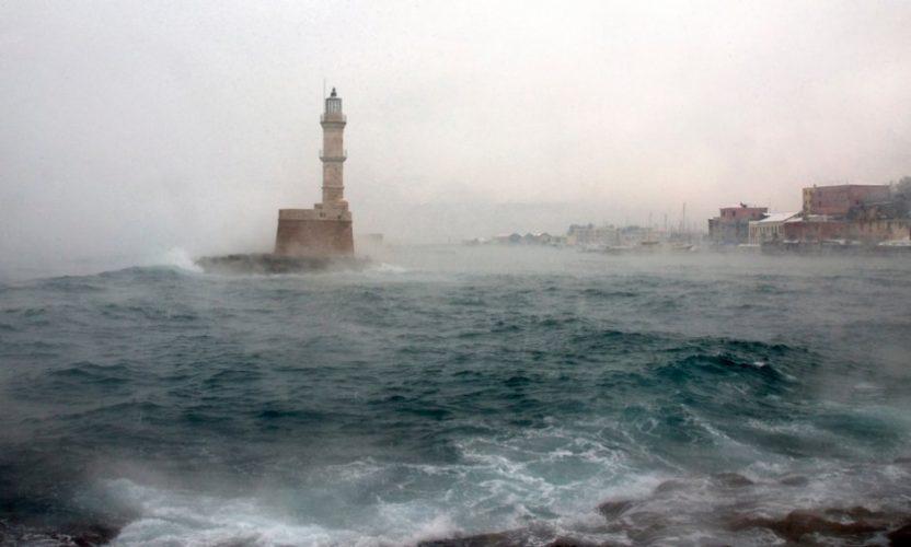 Νέο κύμα κακοκαιρίας θα επηρεάσει το Σαββατοκύριακο την Κρήτη