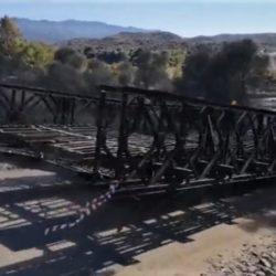 Χανιά: Η στρατιωτική γέφυρα πέρασε από τον δρόμο των κατοίκων για τον Κερίτη!