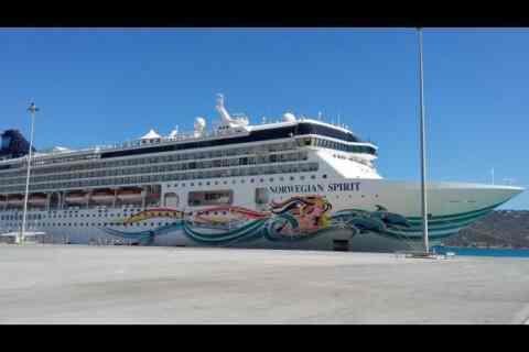 Δύο κρουαζιερόπλοια με εκατοντάδες επιβάτες από το πρωί στα Χανιά