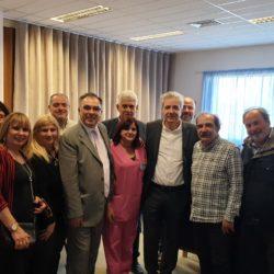 Επίσκεψη Παπαδογιάννη σε Νοσοκομείο και Λιμεναρχείο Σούδας
