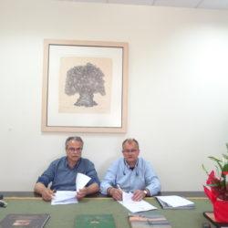 Σύμβαση έργου οδοποιίας και ύδρευσης στις Βουκολιές του Δήμου Πλατανιά
